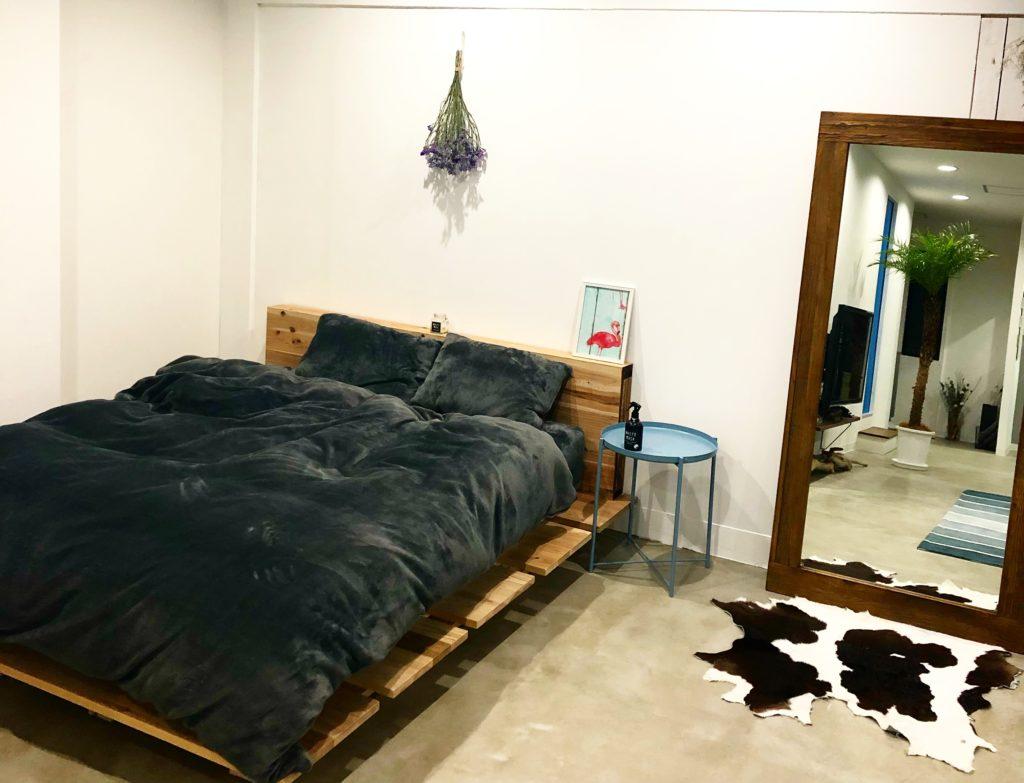 【DIY】パレットベッド(すのこベッド)