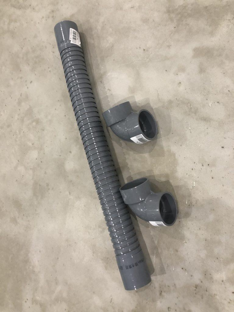 壁 電気配管 代用